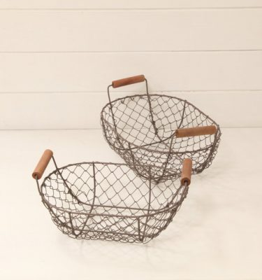 Cestino metallo - Vivaio Arreda Online Shop