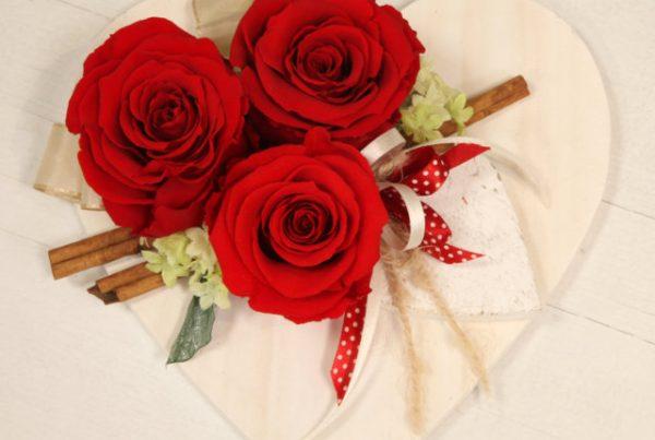 Rose Stabilizzate Love x3 - Vivaio Arreda Online Shop - Idee Regalo San Valentino