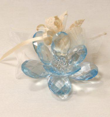 bomboniera fiore di cristallo - vivaio arreda online shop