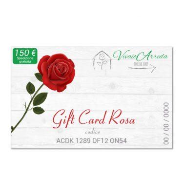 Gift Card Rosa 150 - Vivaio Arreda Online Shop