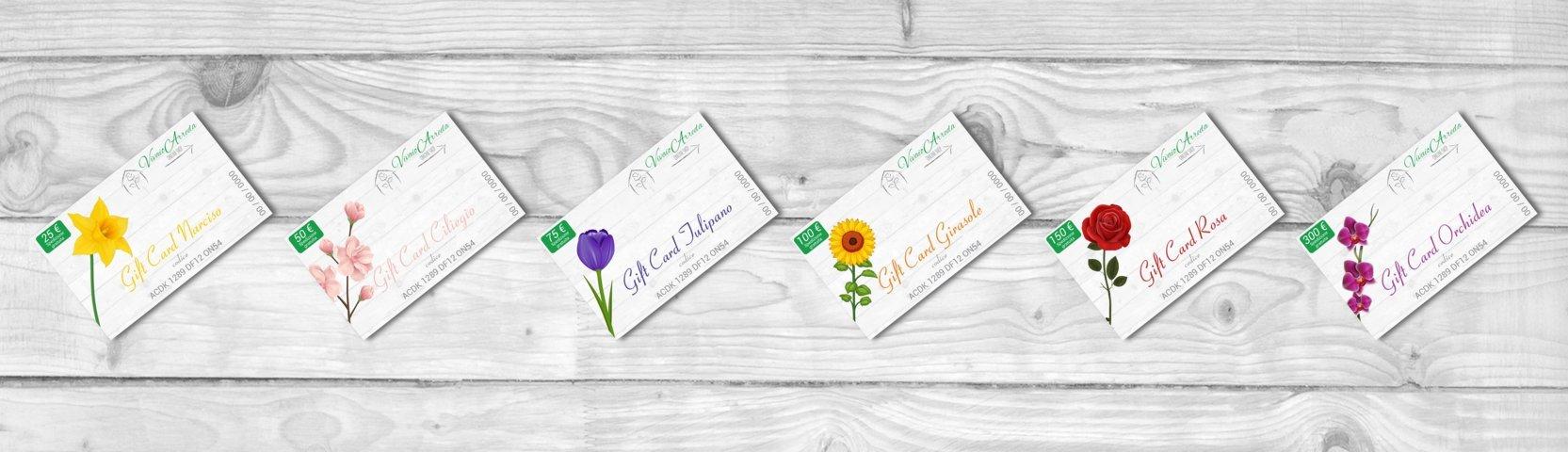 Gift Card Elettroniche Vivaio Arreda
