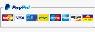 Vivaio Arreda Sistemi di pagamento con carta di credito e paypal