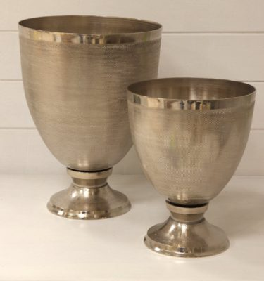 coppa alluminio argento vivaio arreda