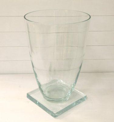 Vaso vetro con base - Vivaio Arreda Online Shop