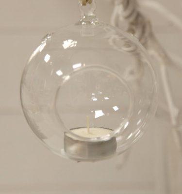 sfera portacandela da appendere