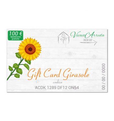 Gift Card Girasole 100 - Vivaio Arreda Online Shop