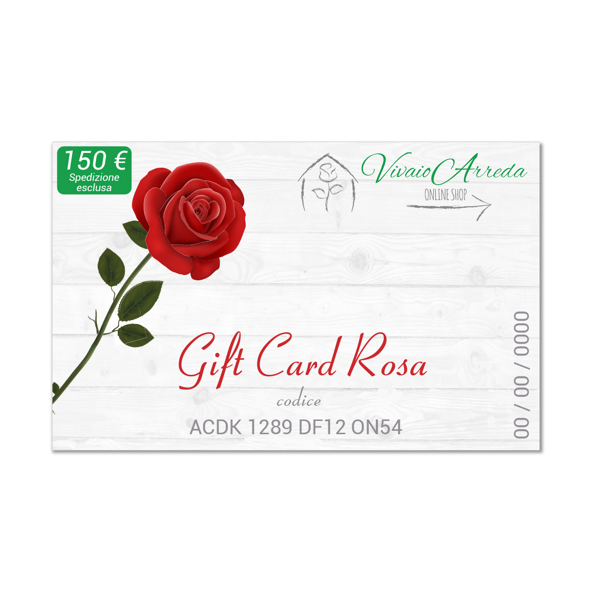 Gift Card Rosa - Vivaio Arreda Online Shop