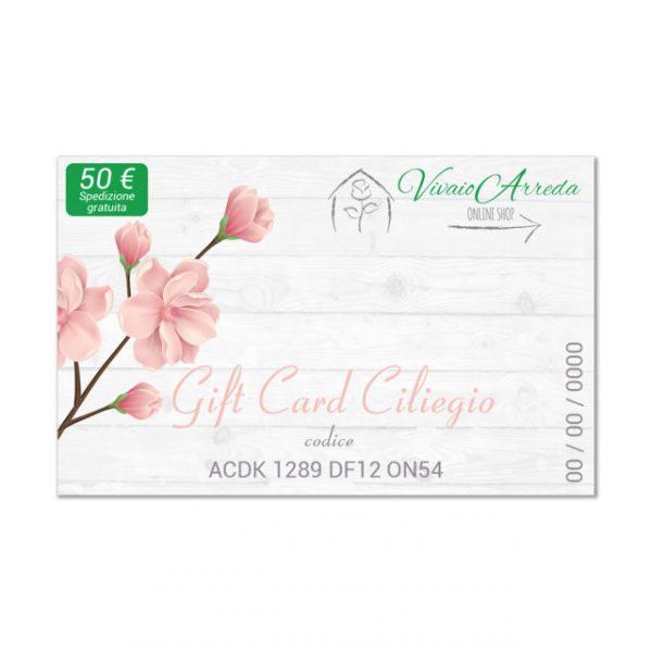 Gift Card Ciliegio 50 - Vivaio Arreda Online Shop