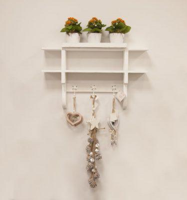 Mensola in legno bianco - Vivaio Arreda Online Shop