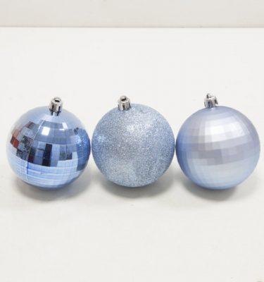 Sfere Natale Azzurro - Vivaio Arreda Online shop