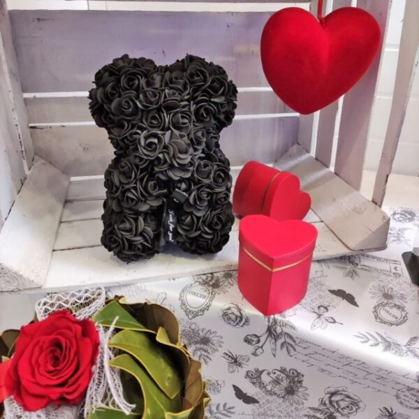 Orsetto Teddy Bear Rose Nere